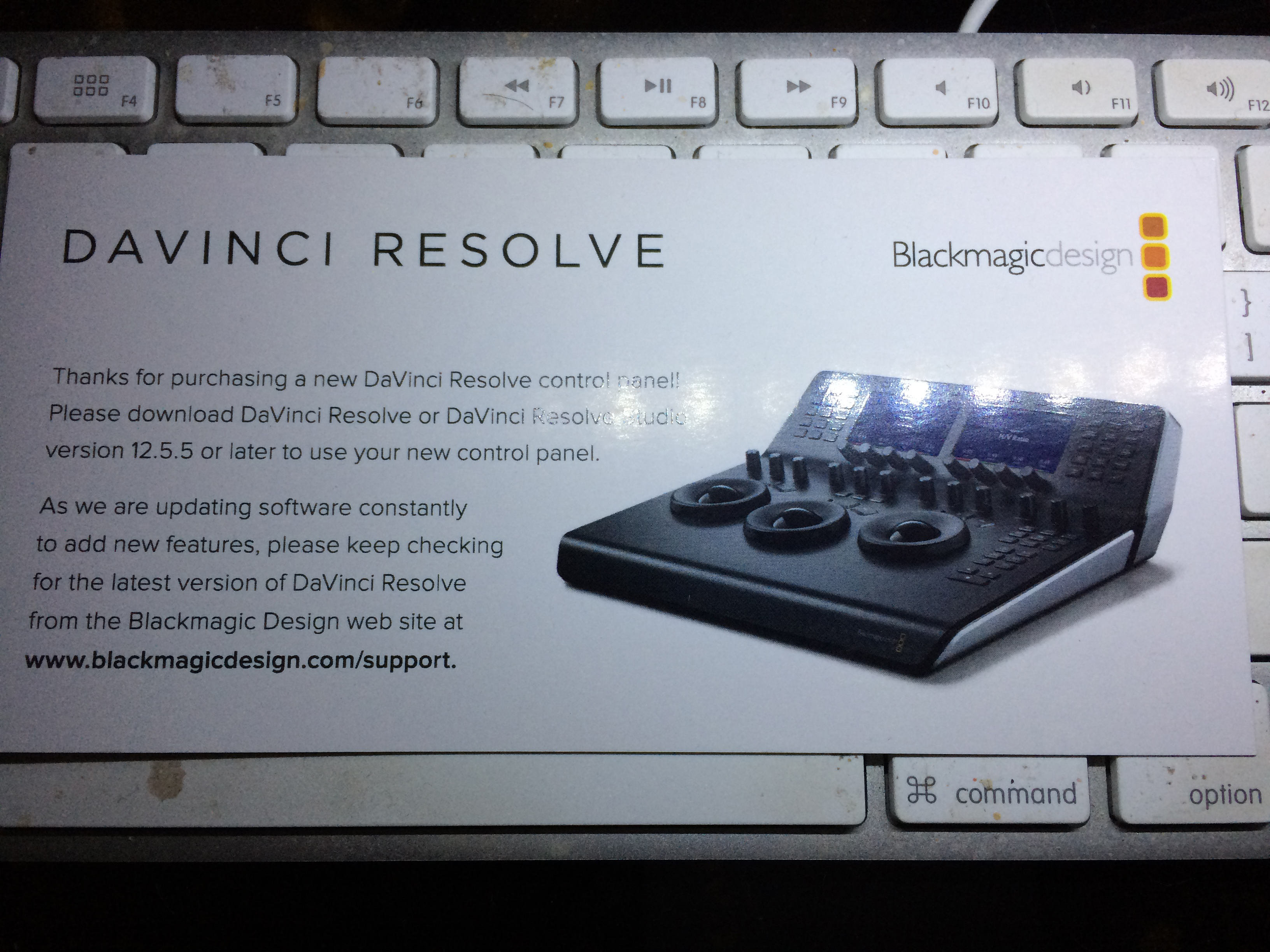 Blackmagic Forum View Topic Question For Those Who Have Bought The Mini Panel